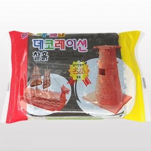 데코레이션 찰흙 검정 I-04-126